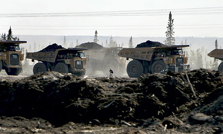 Blog Carbon emission :  Tar sands mining