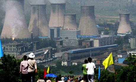 county's power plant in Zhangjiakou, northeast China's Hebei province