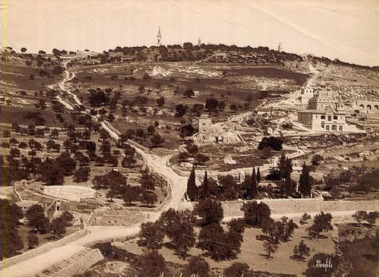 Israel-Palestine timeline: Mount of Olives, Jerusalem