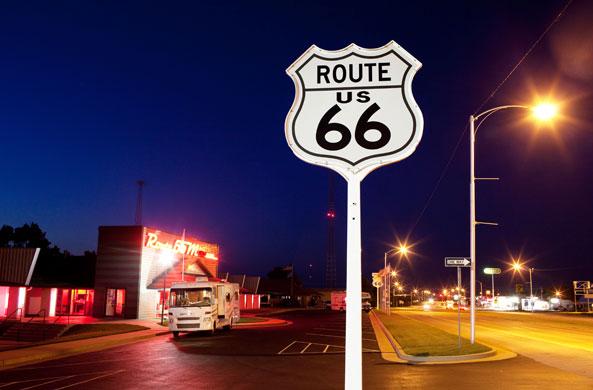 Route 66, sulla strada di Tom Joad e John Steinbeck / Foto Guardian - David Levene