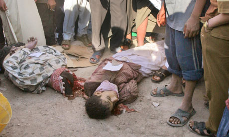 The bodies of gays on the streets of Iraq