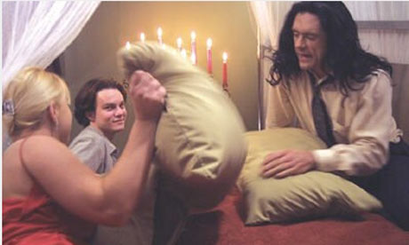 A scene from The Room.