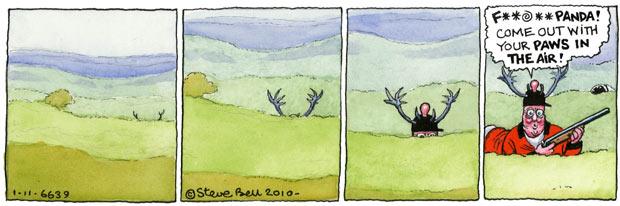 Steve Bell's If… 1/11/10