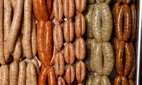 5 types of sausage