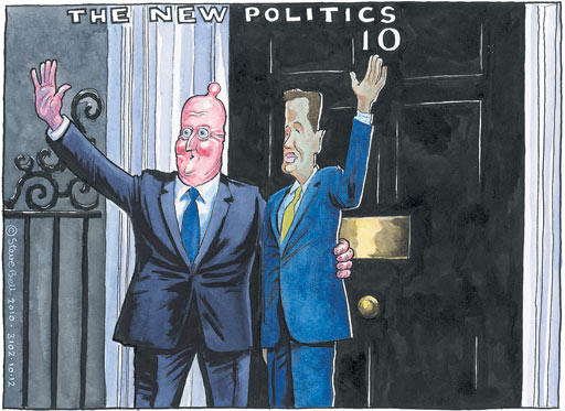 10.12.2010 Steve Bell cartoon
