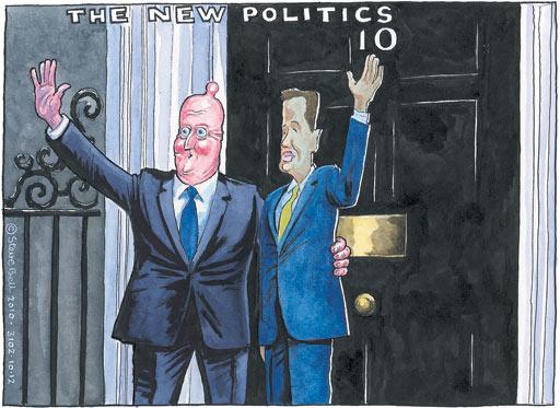 10.12.2010 Steve Bell cartoon