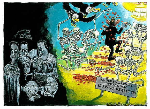 Tony Blair inquiry in Britain, cartoon by Martin Rowson