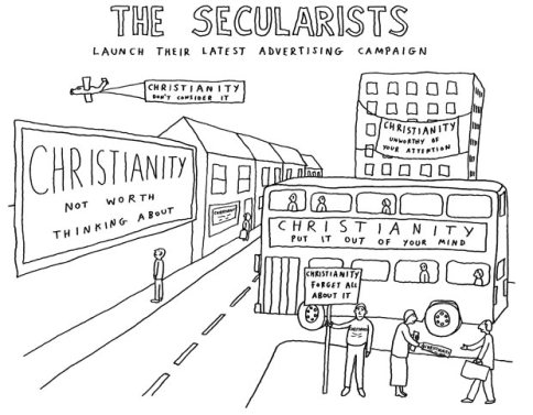 Secularism in the Modern World   Catholicism Pure & Simple