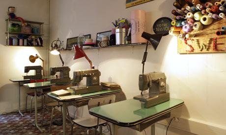 Sweat Shop cafe, Paris