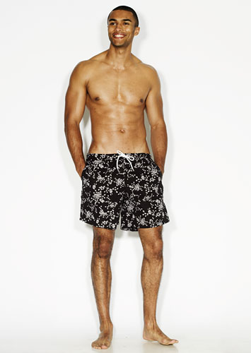 line-up swimshorts: Patterned shorts