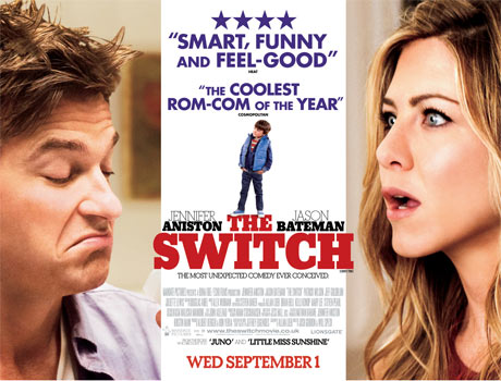 Film Review The Switch  Goats Will Eat Anything