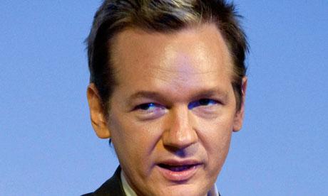 File photo of WikiLeaks founder Julian Assange