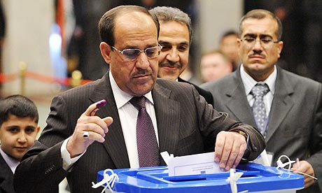 Iraqi Parliamentary Election, Baghdad, Iraq - 06 Mar 2010
