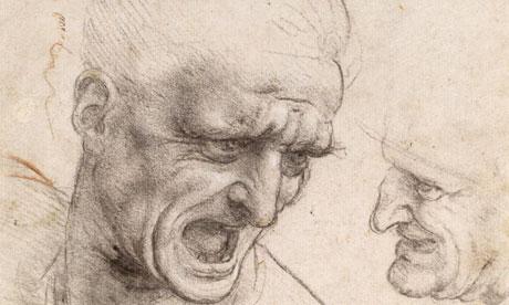 Batalia de la Anghiari - Leonardo da Vinci