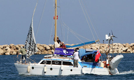 Jewish activists leave Cyprus on their yacht bound for Gaza