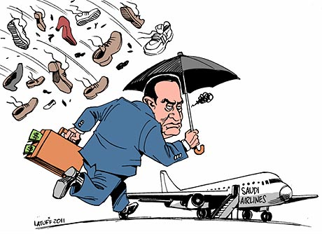 After 30 years, a few days of rage will not make a real difference! (Cartoonist - Carlos Latuff).