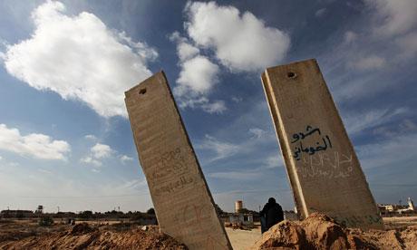 Rafah, Gaza's southern border with Egypt