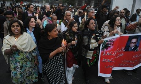 Rally in memory of Salman Taseer
