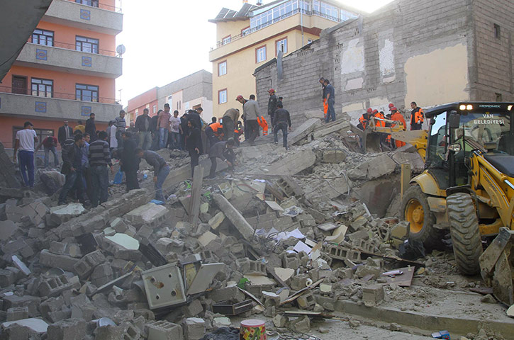 Turkey earthquake: Turkey earthquake