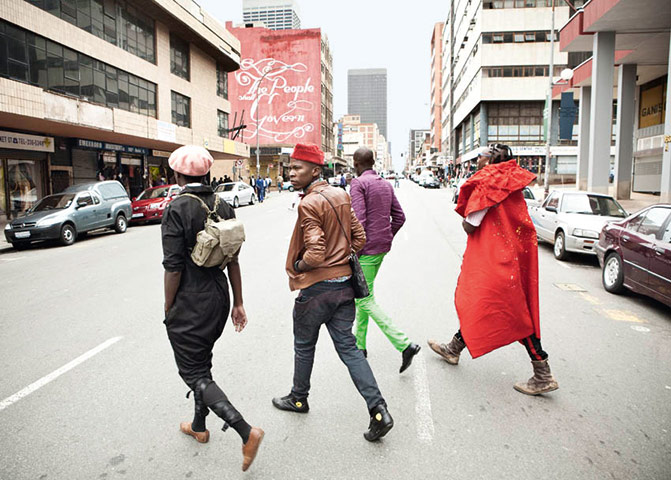 South African fashion: South African Fashion Smarteez collective crossing