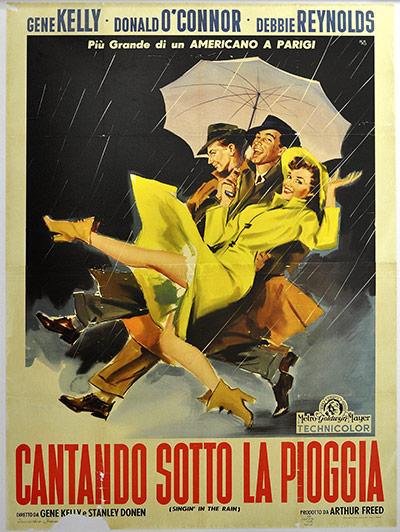 Film Poster Exhibition: Singin' in the Rain poster