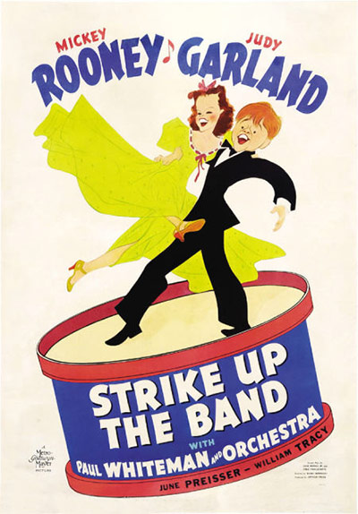 Film Poster Exhibition: Strike Up The Band poster