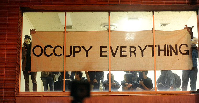 Occupy Everything banner
