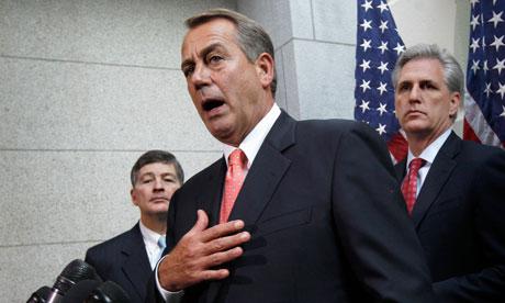 Joen Boehner, Jeb Hensarling, Kevin McCarthy
