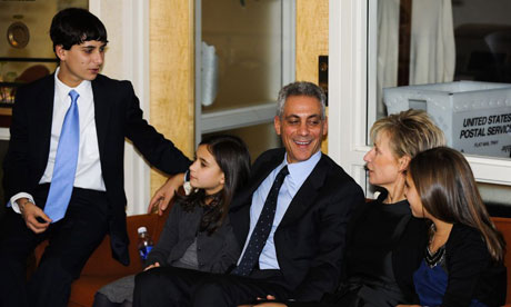 Rahm Emanuel, elected Chicago mayor