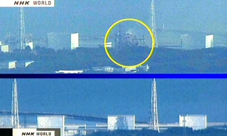 Japan nuclear alert: before and after