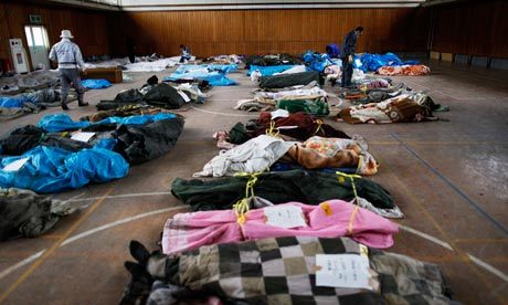 Japan earthquake and tsunami: humanitarian relief effort struggles