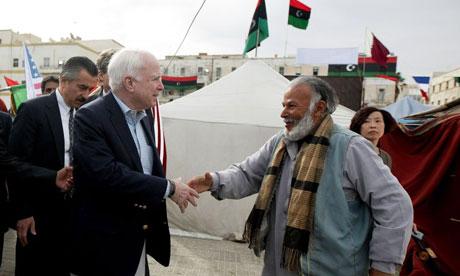 John mcCain in Libya