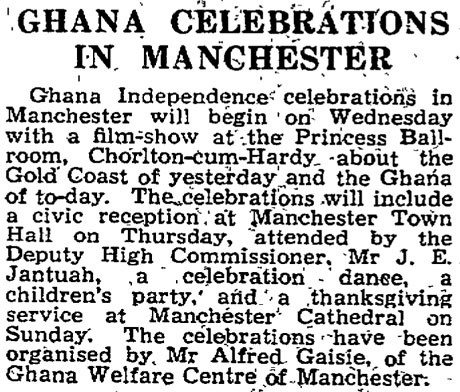 1957: Gold Coast changes name to Ghana as UK grants
