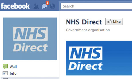 NHS Direct considers targeted ads on Facebook and Twitter  Healthcare Professionals Network