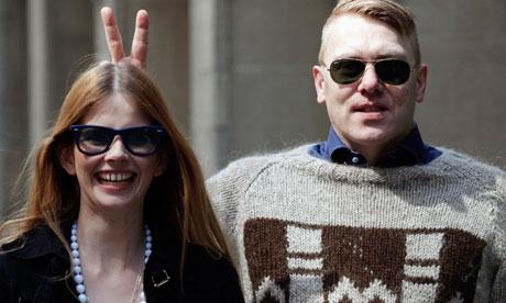 Icelandic actor, comedian and mayor of Reykjavik, Jon Gnarr poses in New York