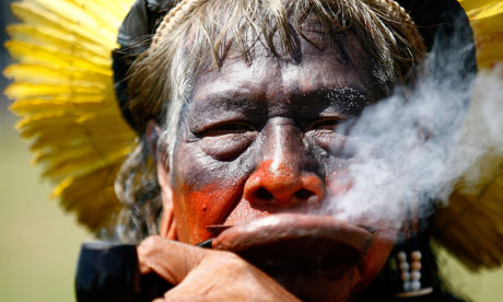 Chief Raoni of the Caiapo tribe