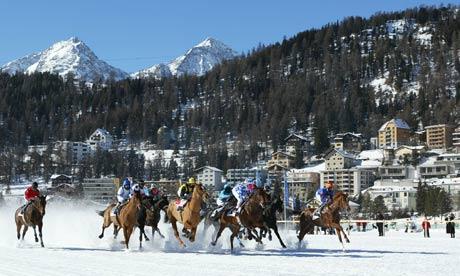 St Moritz: Preparing to host Bilderberg