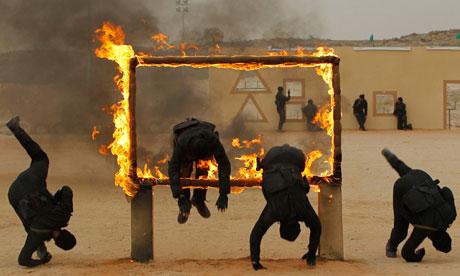 Saudi border guards