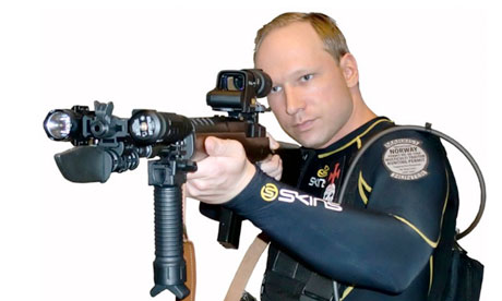 Anders B. Breivik apparently used Call of Duty as training.