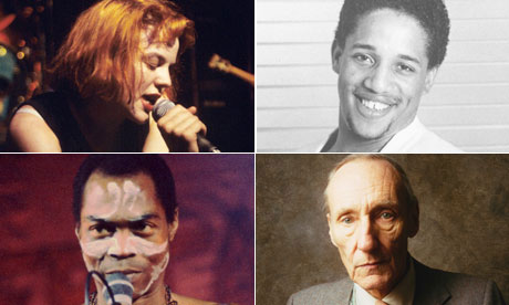Music phrasemakers: Tobi Vail, DJ Lovebug Starski, William Burroughs and Fela Kuti