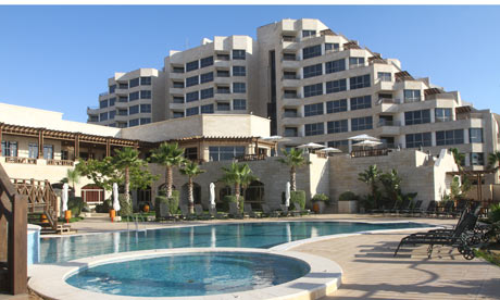 Al-Mashtal Hotel, Gaza City.