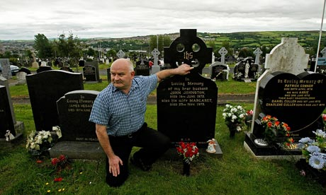 Jimmy Duddy, nephew of one of the Bloody Sunday victims, John Johnston