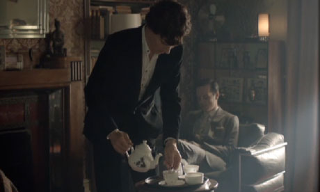 Ali Miller's tea set in Sherlock