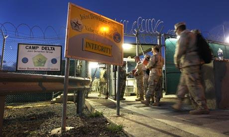 Guantanamo Bay detention centre in Cuba
