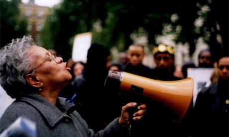 Still from documentary Injustice
