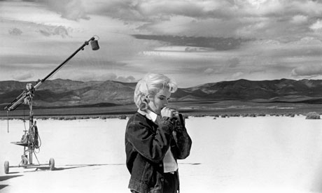 Marilyn Monroe - 'fragile and poised by turn' - photographed by Eve Arnold in the Nevada desert