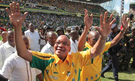 Jacob Zuma, ANC 100th birthday