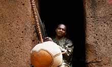 Toumani Diabaté, Malian kora player in Bamako