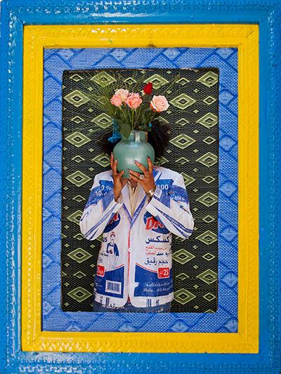 Hassan Hajjaj portraits: Amine B