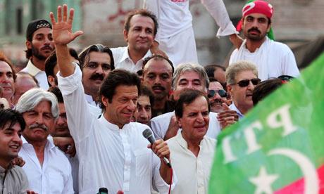 Imran Khan, head of Pakistan Tehreek-e-Insaf